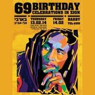 BOB MARLEY- 69 BIRTHDAY