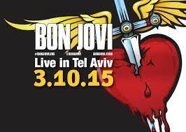 בון ג'ובי (Bon Jovi) בישראל